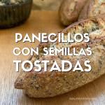 pan con semillas tostadas, semillas tostadas, semillas, girasol, calabaza, linaza, chia, amapola, pan con masa madre, pan nutritivo, pan saludable